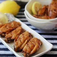 柠香锡纸包烤鸡翅