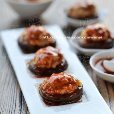 虾蓉豆腐酿香菇