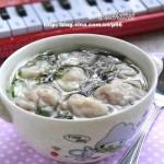 鲜肉小馄饨(早餐菜谱)