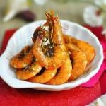 省油版香茅椒盐虾