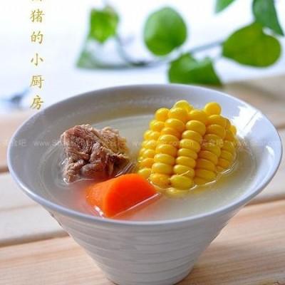 香甜玉米脊骨汤