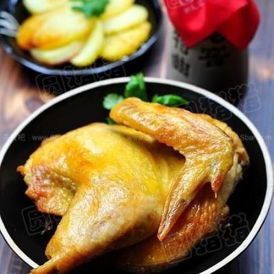 简易版盐锔鸡
