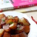 红烧萝卜(素菜菜谱)