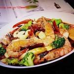四川盆盆虾(海鲜菜谱)