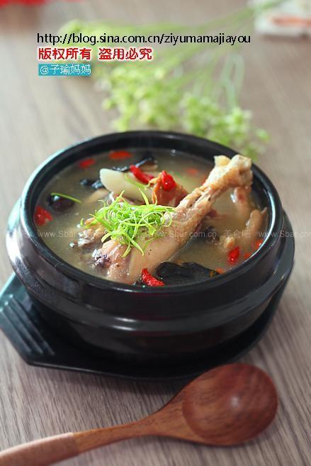火腿炖鸡汤