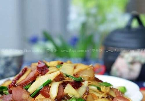 冬笋炒腊肉(浓浓冬日气息的经典湘菜)