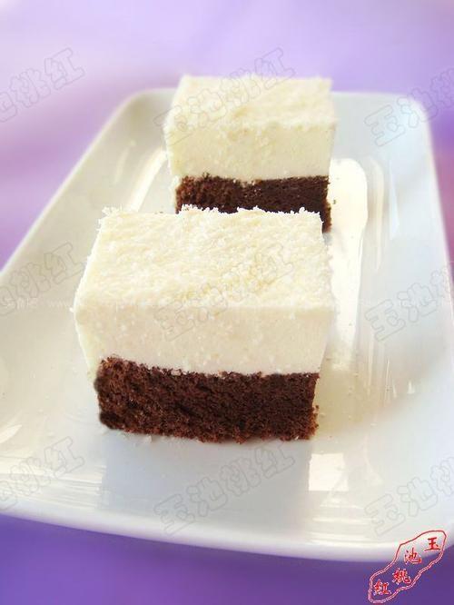 黑白森林慕斯蛋糕(烘培菜谱)的做法步骤