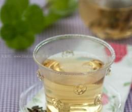 紫罗兰桂花清肺茶