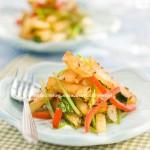 孜然土豆条(素食)