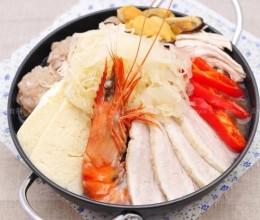 酸菜汆白肉汤底火锅