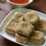 煎臭豆腐(风味小吃)