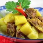 咖喱土豆炖牛肉(荤素搭配)