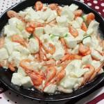 豆腐虾(美味又补钙)