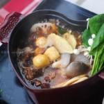 红烧牛腩火锅(冬季菜谱)