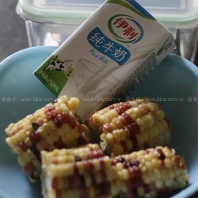 微波椒香奶盐玉米