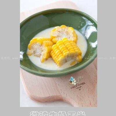 微波牛奶玉米