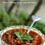 微波香菇肉酱(五分钟微波炉菜谱)