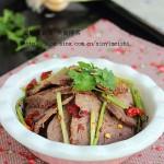 干拌麻辣牛肉(经典川菜)