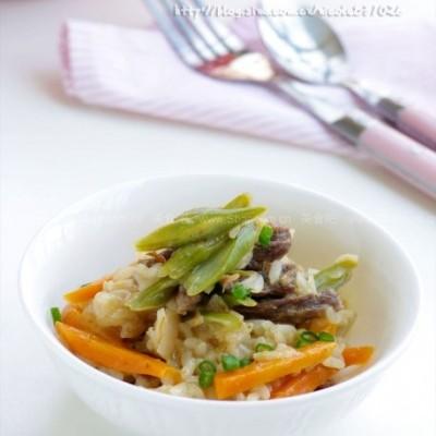 微波柚咖喱什锦烩饭