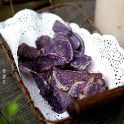 微波香酥紫薯片