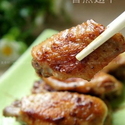 电饼铛香煎鸡翅中