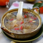 白果蜜豆银耳甜汤(电压力锅菜谱)