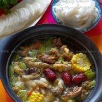 粵式養顏雞湯火鍋