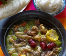 粤式养颜鸡汤火锅