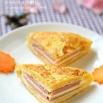 火腿西多士(快速美味早餐菜谱)