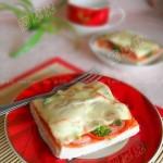微波馒头披萨(微波炉菜谱)