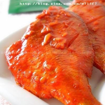 微波蒜香红立鱼