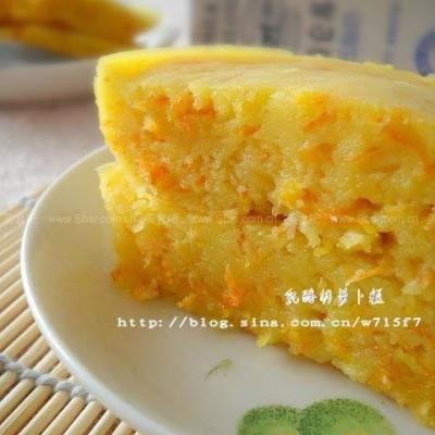 微波乳酪胡萝卜糕
