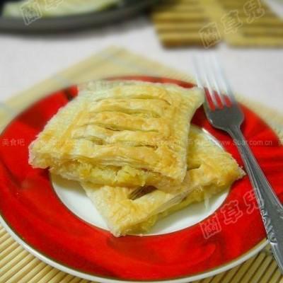 微波香甜酥脆香蕉派