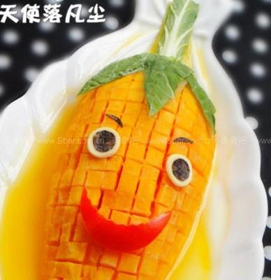 橙汁玉米木瓜
