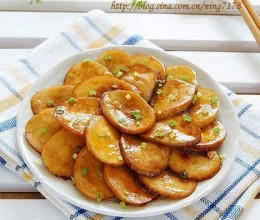 煎烧蚝油鲍菇片