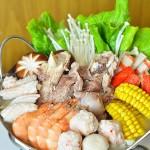 筒骨海鲜火锅(春节年菜)