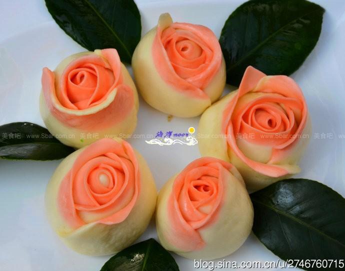 巧克力玫瑰包(情人节的甜蜜面食)的做法步骤