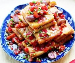 红椒酿豆腐