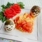 情侣版番茄炒蛋(情人节家常菜)