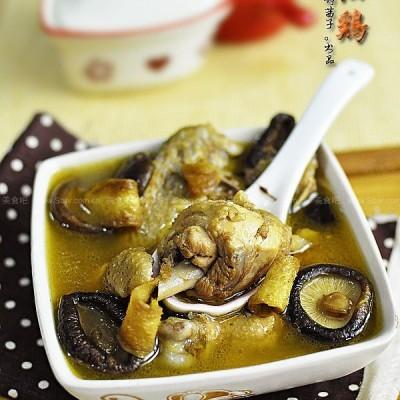 正宗台湾香菇麻油鸡