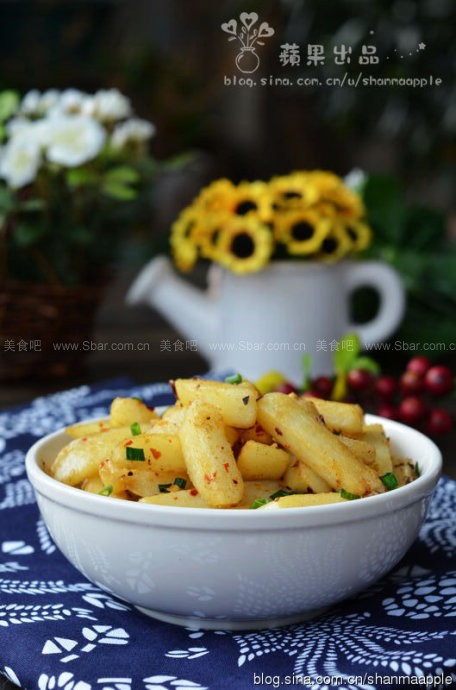 干煸孜然土豆条