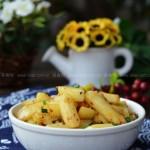 干煸孜然土豆条(给孩子吃健康的薯条)
