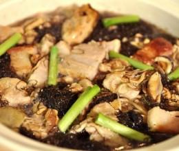 发菜蚝豉煲