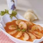 茄汁開胃蝦(海鮮菜譜)