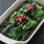芝麻菠菜(家常凉菜)