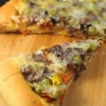 香草咸牛肉披萨(烘培菜谱)