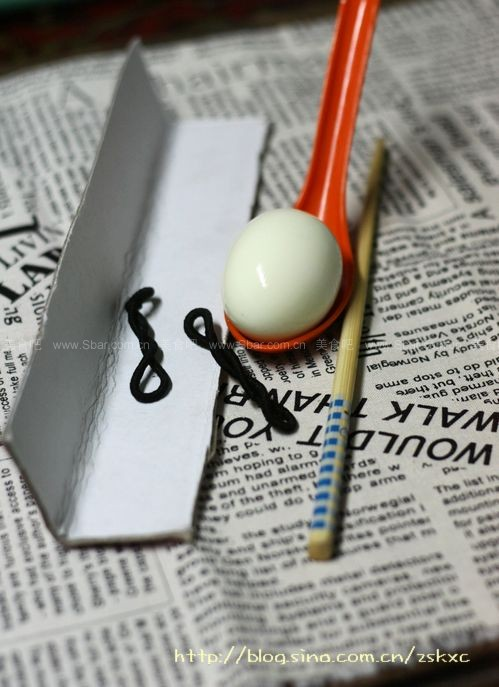 DIY心形鸡蛋