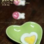 DIY心形鸡蛋(早餐菜谱)