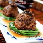 梅干菜蒸狮子头(清蒸菜谱)