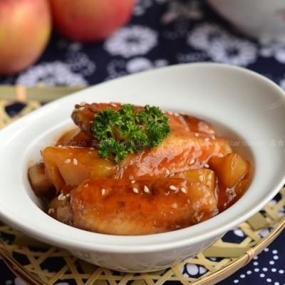 果香苹果鸡翅